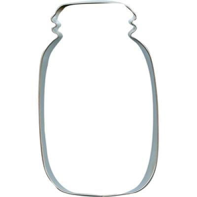 Mason Jar Cookie Cutter 4 1/4