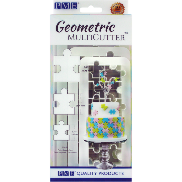 Geometric MultiCutter - Puzzle Set of 3 by PME