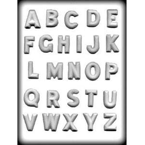 Letters/Alphabet Hard Candy Mold