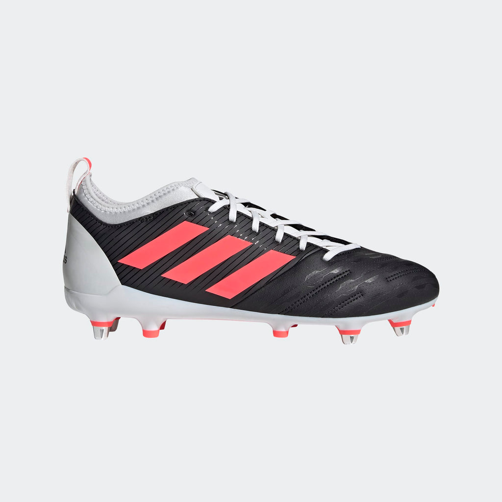 Adidas Malice Elite SG Adult Rugby Boots Black/Pink