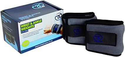 Fitness Mad Wrist & Ankle Weights 1KG