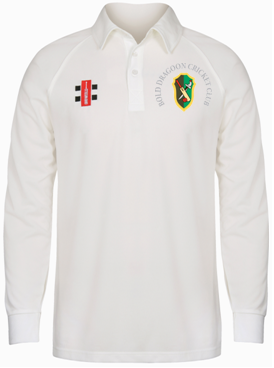 Bold Dragoon Gray Nicolls Matrix L/S Shirt