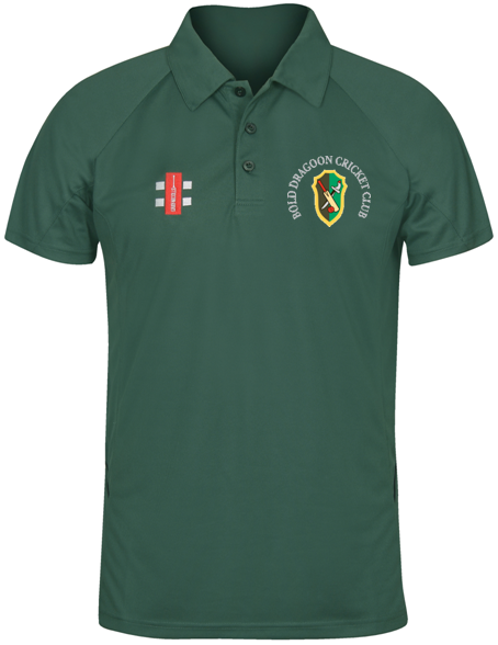 Bold Dragoon Gray Nicolls Matrix Polo