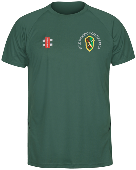 Bold Dragoon Gray Nicolls Matrix T-Shirt