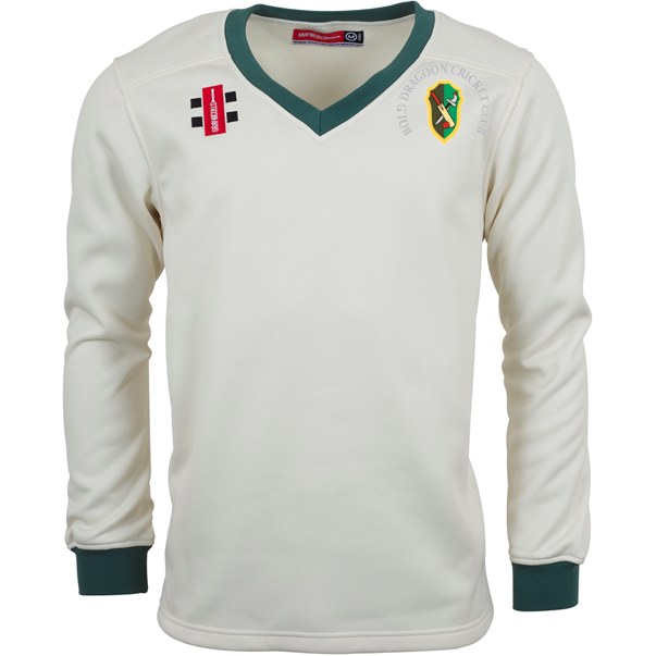 Bold Dragoon Gray Nicolls Velocity Sweater