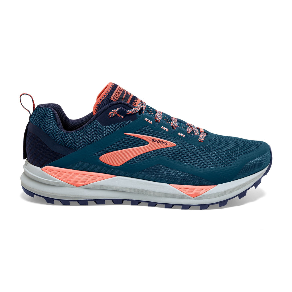 Brooks Cascadia 14 Womens Desert Flower/Navy