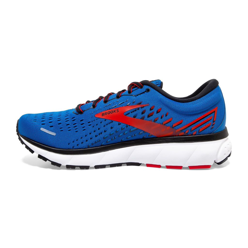 Brooks Ghost 13 Mens Running Shoe Blue/Red