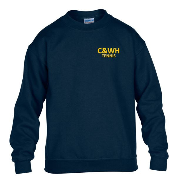 C&WH Tennis Kids Crew Neck Sweatshirt