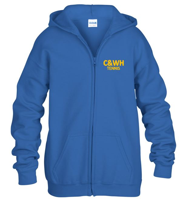 C&WH Tennis Kids Full Zip Hoody