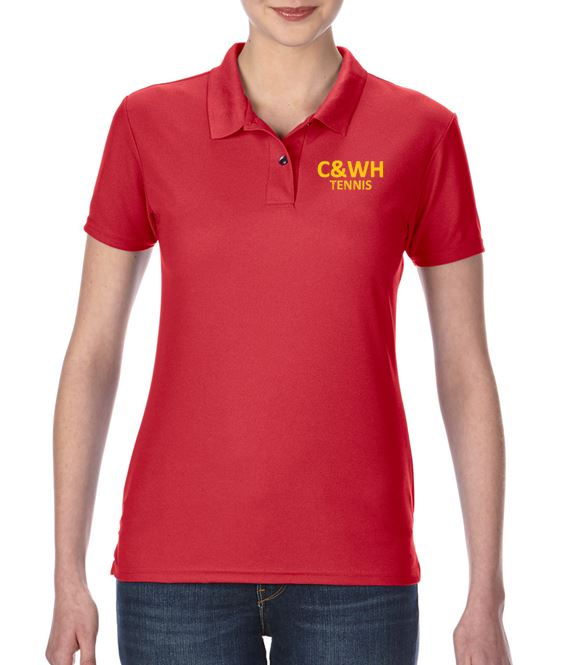 C&WH Tennis Ladies Polo Shirt