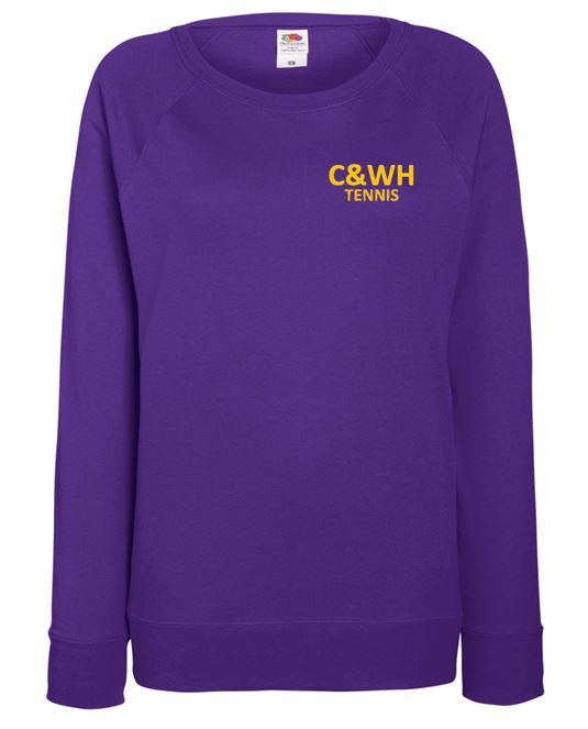 C&WH Tennis Ladies Crew Neck Sweatshirt