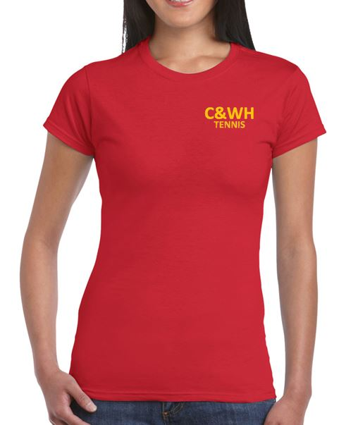 C&WH Tennis Ladies Cotton T-Shirt