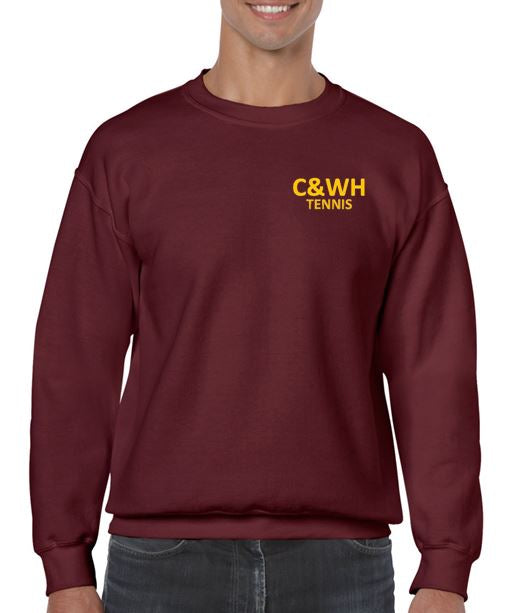 C&WH Tennis Mens Crew Neck Sweatshirt