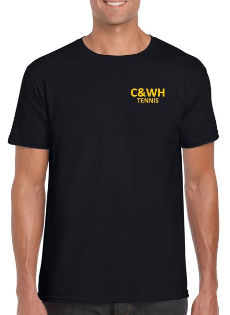 C&WH Tennis Mens Cotton T-Shirt