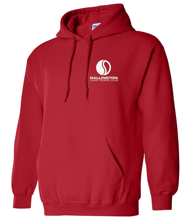 Dallington Hooded Sweatshirt Red