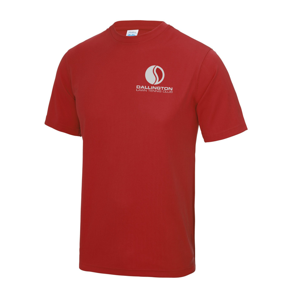 DLTC Cool Wicking Junior Tee Red
