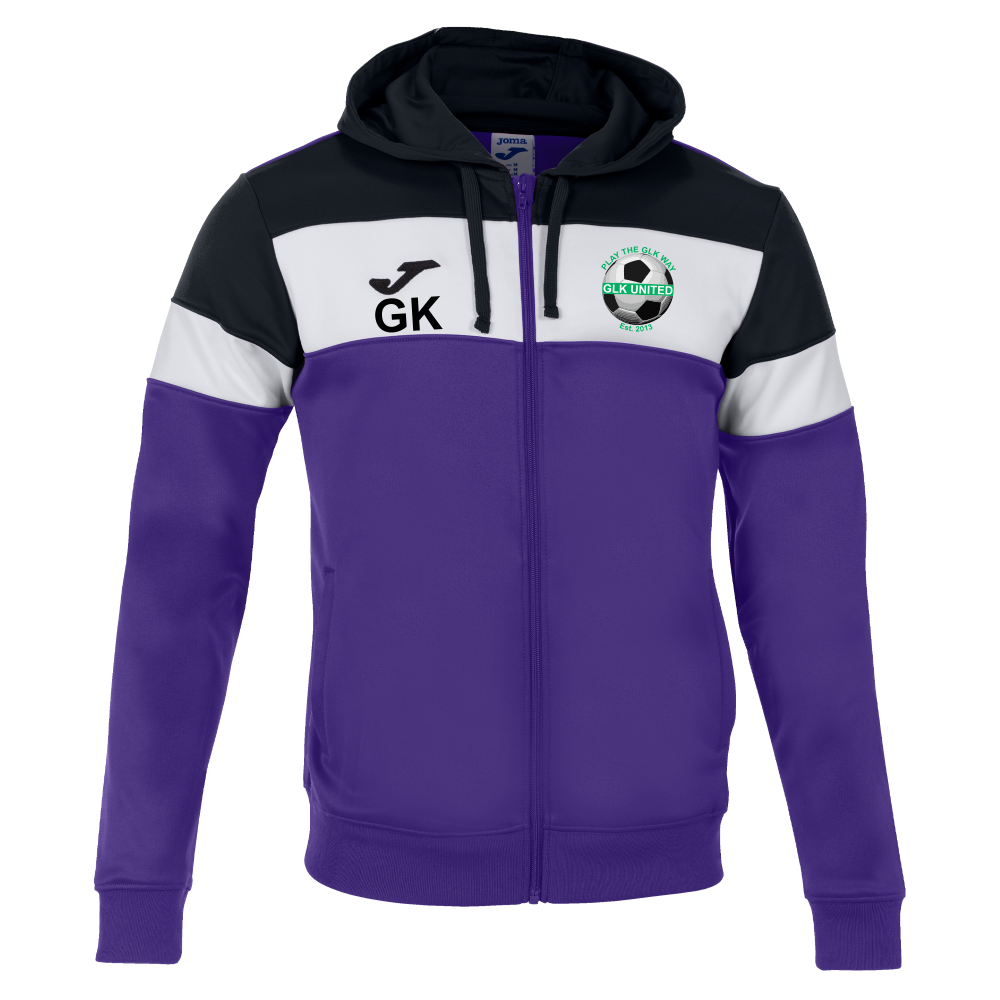GLK Joma Crew IV Jacket Violet Junior