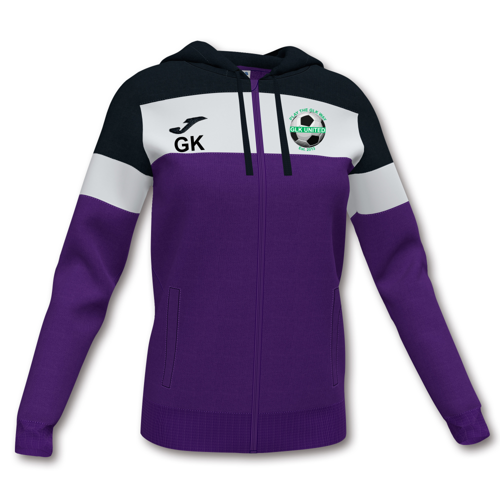 GLK Joma Crew IV Jacket Violet Ladies
