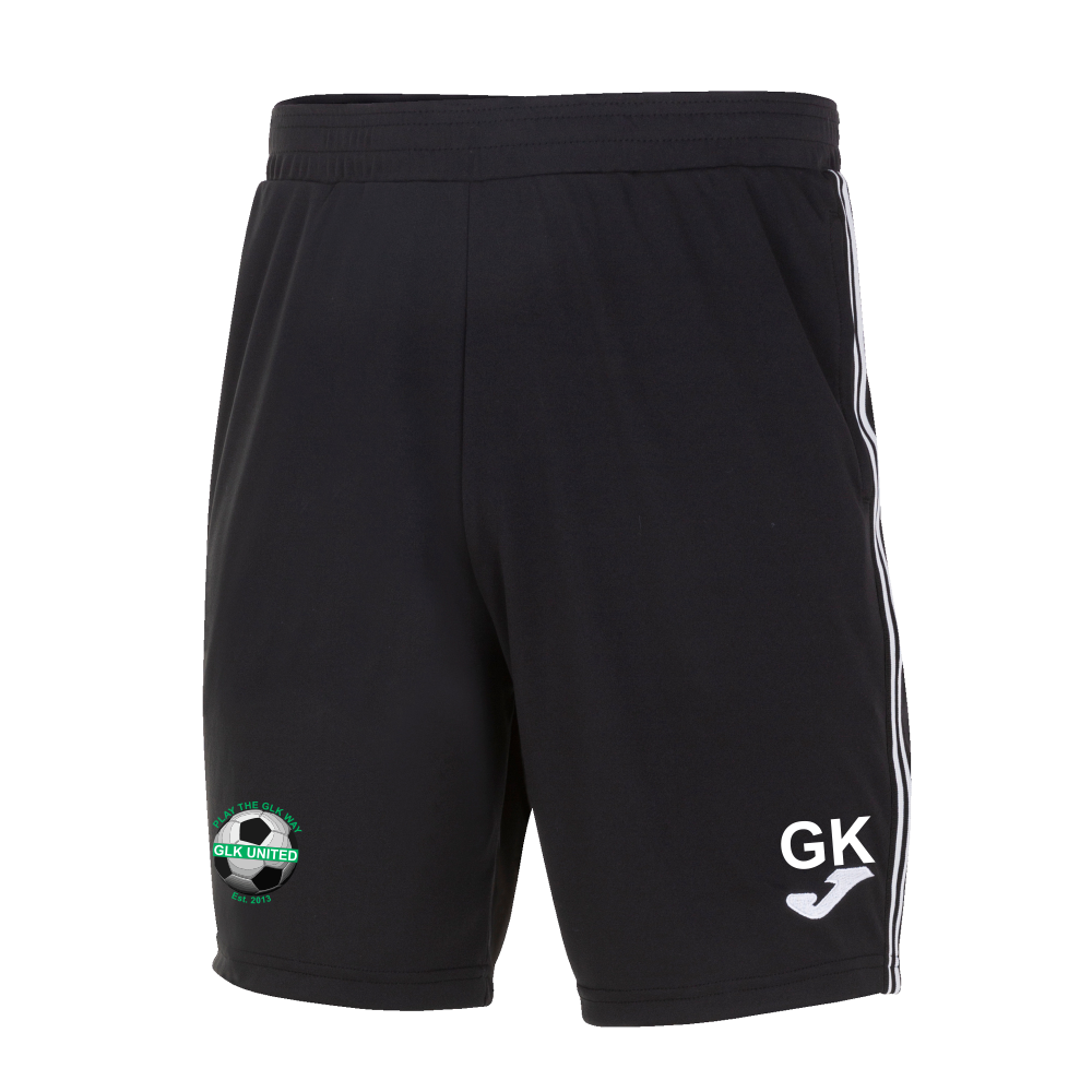GLK Joma Classic Bermuda Training Shorts Black Adult