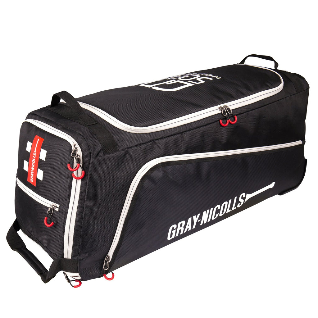 Gray - Nicolls GN500 Wheelie Bag