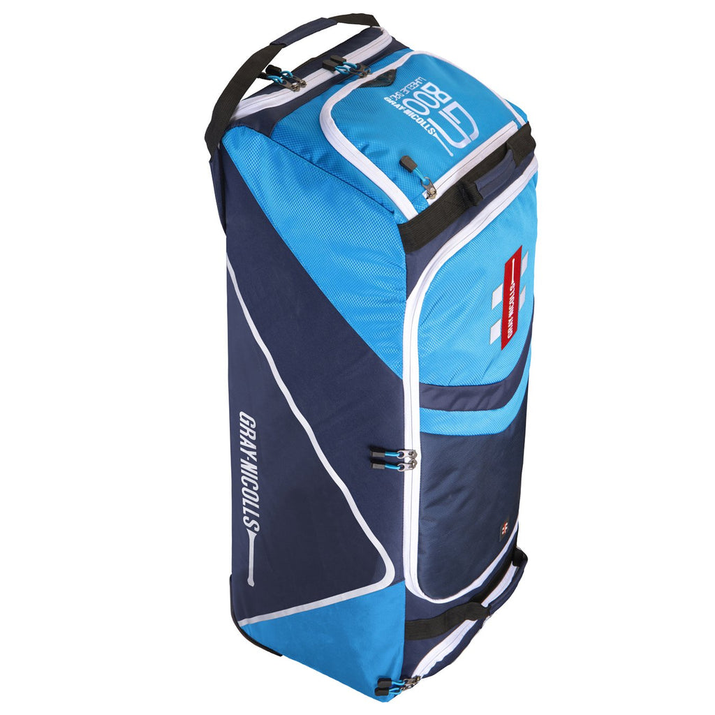 Gray - Nicolls GN800 Wheelie Bag