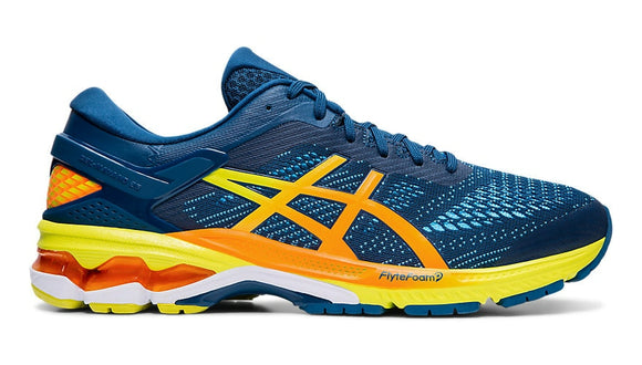 Asics Gel Kayano 26 Mens Mako Blue/Sour Yuzu