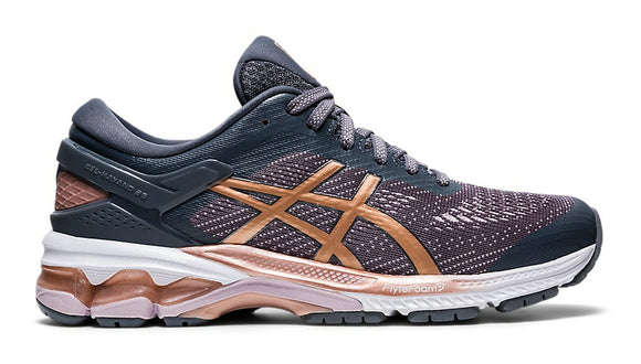 Asics Gel Kayano 26 Womens Metropolis/Rose Gold