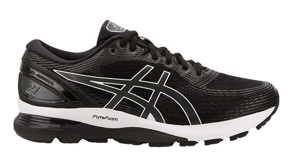 Asics Gel Nimbus 21 Mens Black/Grey