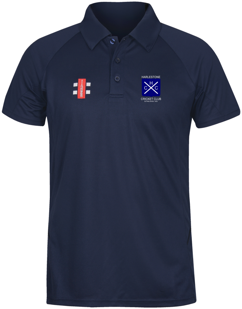 Harlestone Gray Nicolls Matrix Polo Navy