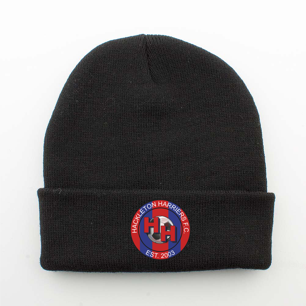 Hackleton Harriers F.C Cuffed Beanie Hat