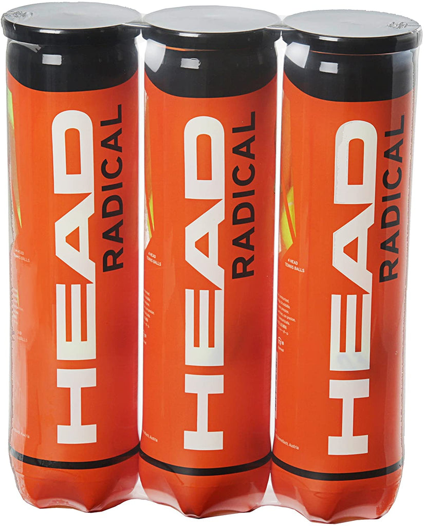 Head Radical Tripack Tennis Balls