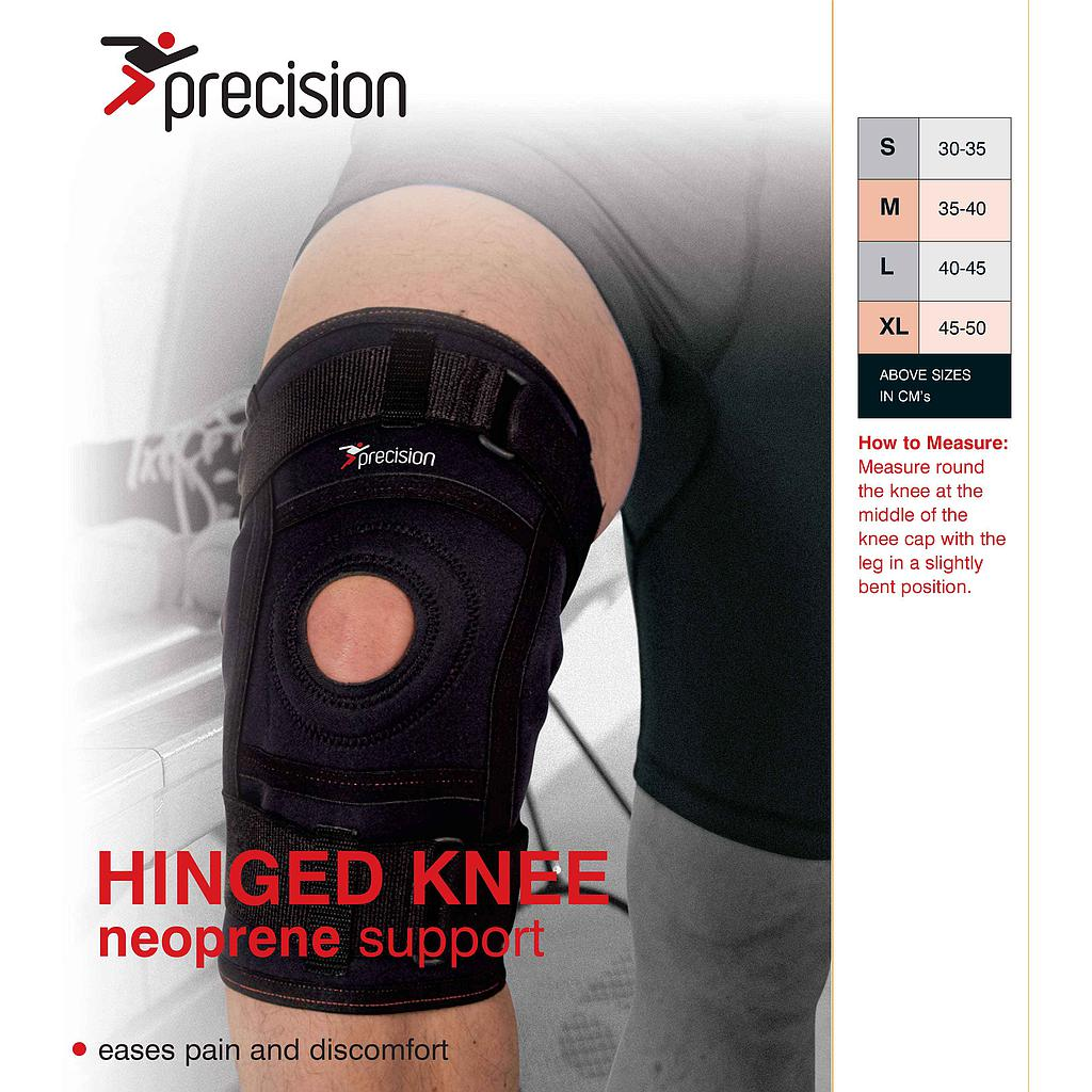 Precision Hinged Knee Neoprene Support