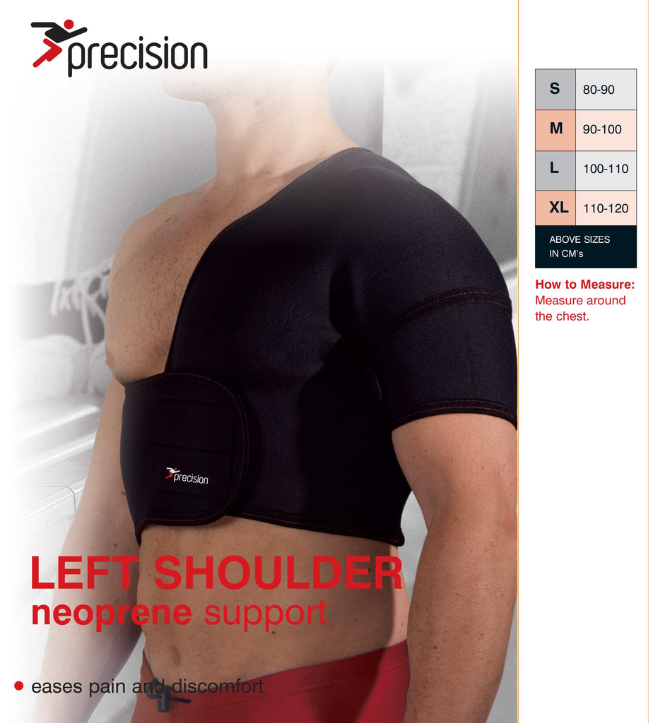 Precision Left Shoulder Neoprene Support