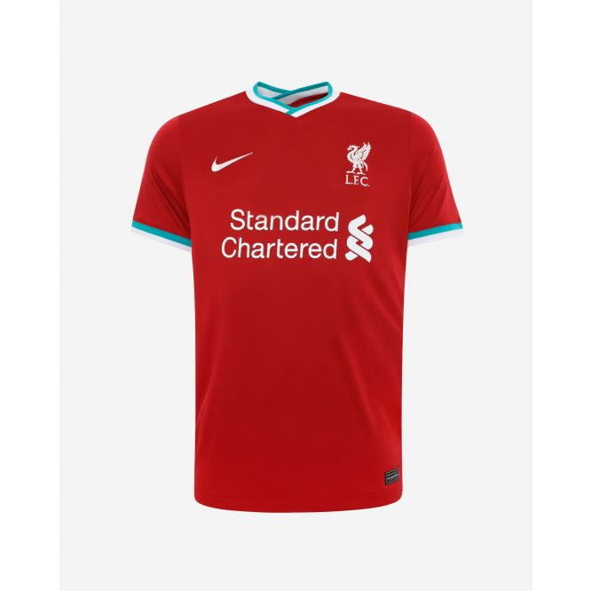 LFC Liverpool Nike Older Kids Home Stadium Jersey 20/21