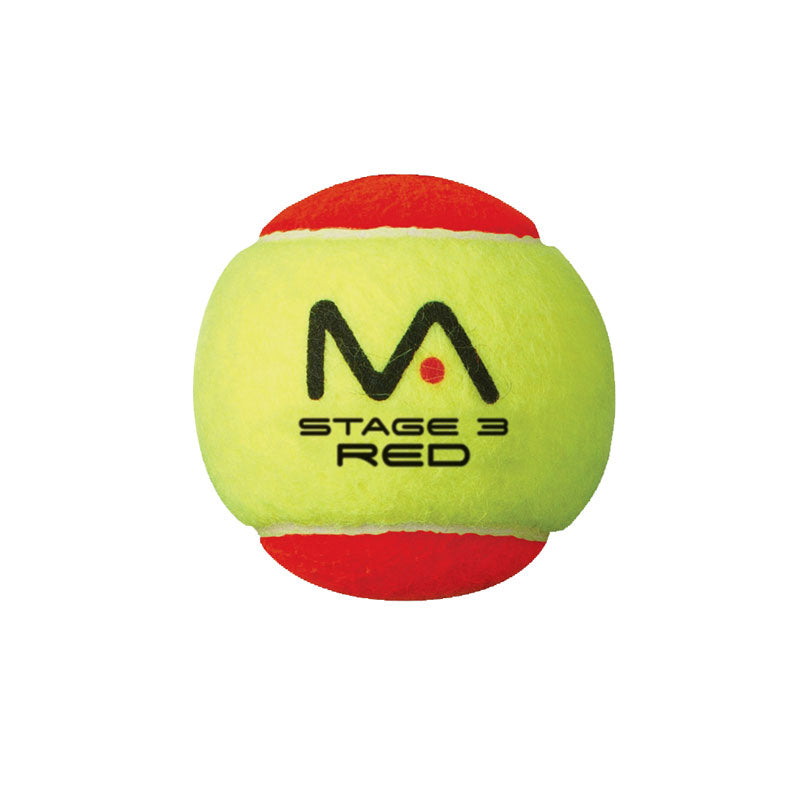 Mantis Stage 3 Red Starter Tennis Ball