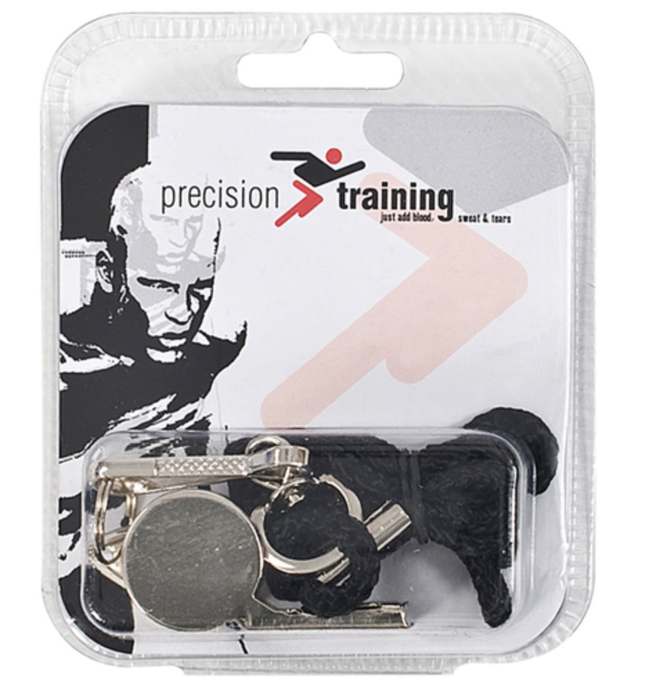 Precision Metal Whistle & Lanyard