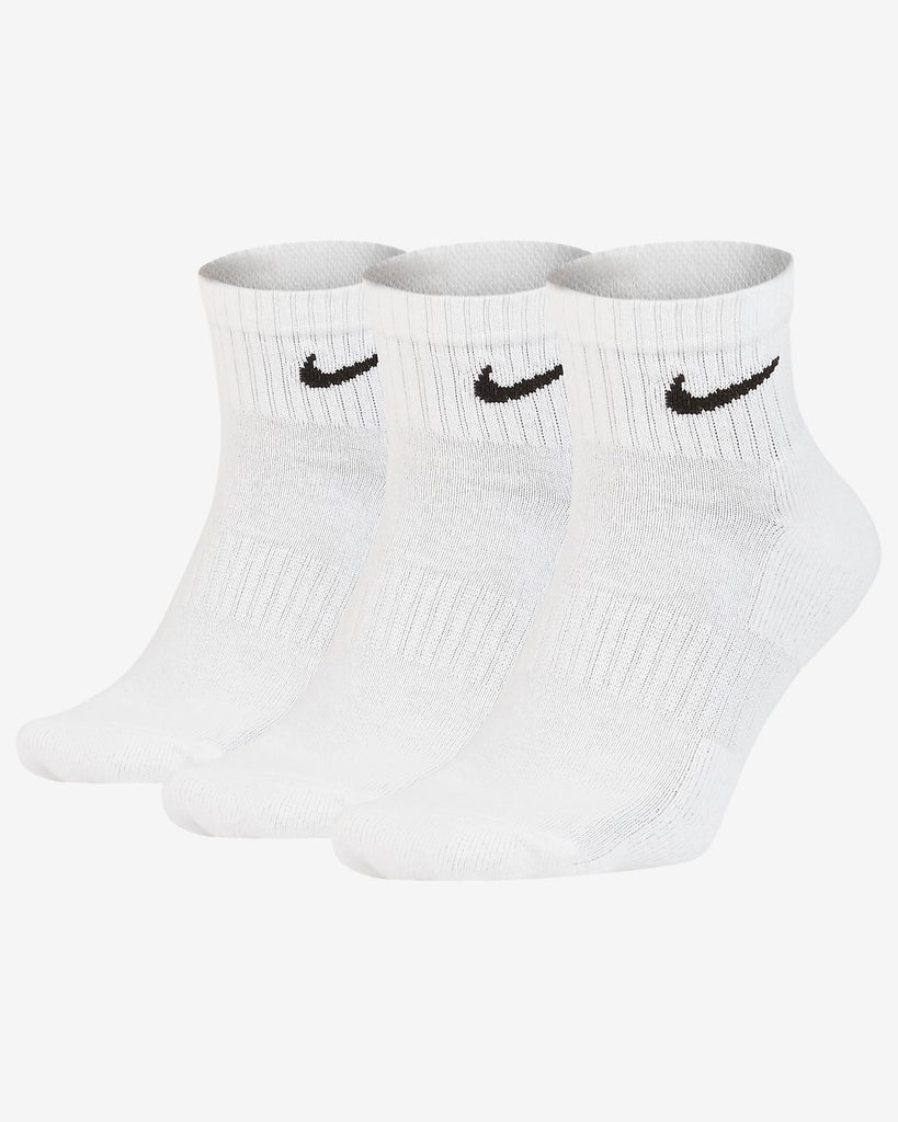 Nike Everyday Cotton Cushioned Ankle Socks 3 Pack