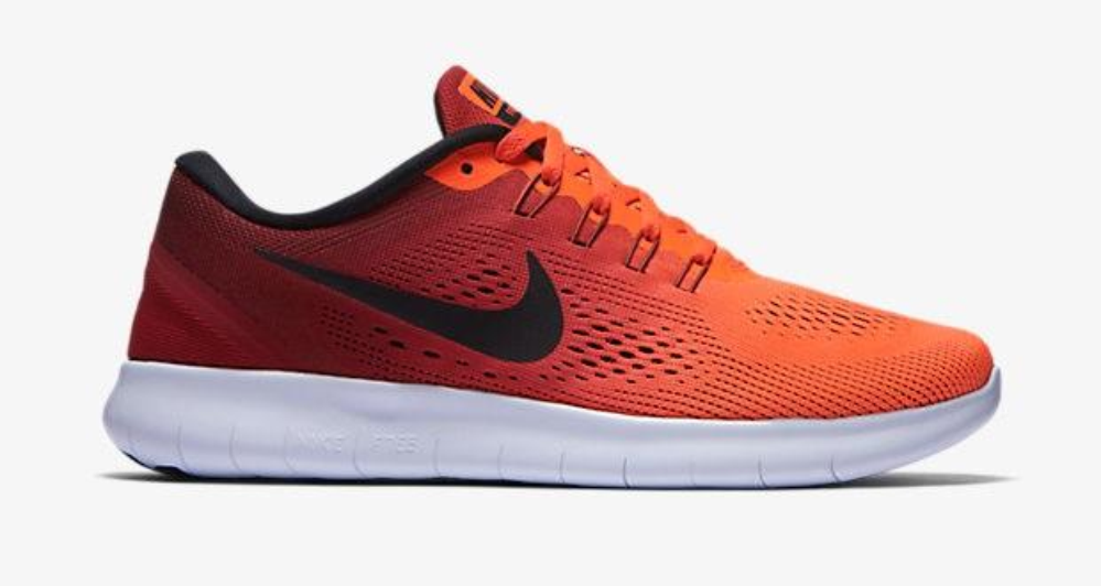 Nike Free RN Womens Total Crimson