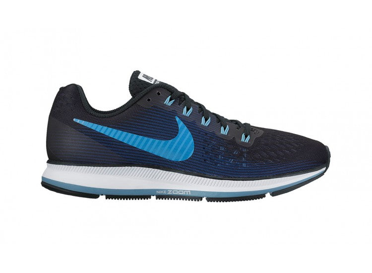 Nike Air Zoom Pegasus 34 Womens Black/Cerulean