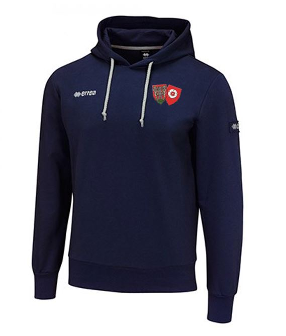 ON Chenecks Errea Warren Hooded Sweatshirt - Navy