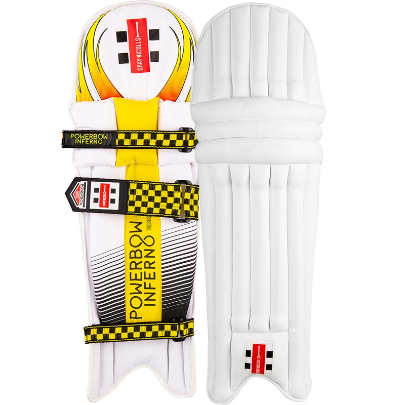 Gray - Nicolls Powerbow Inferno Thunder Batting Leg Guards