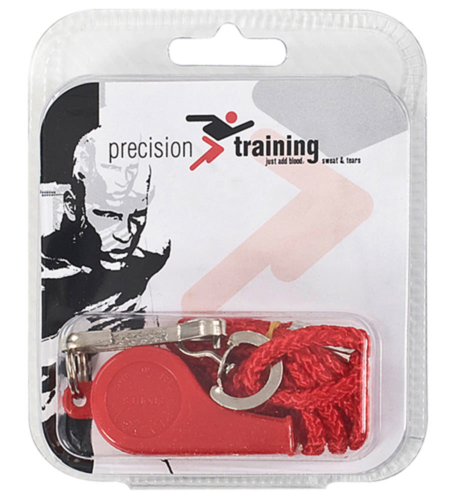 Precision Plastic Whistle & Lanyard