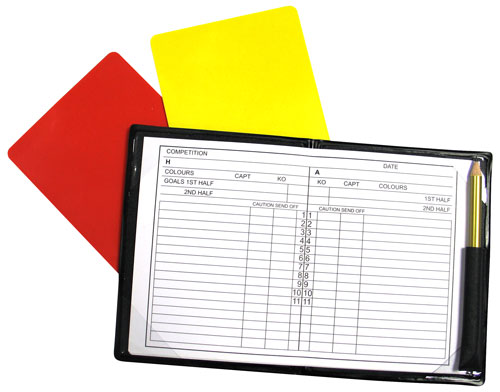Precision Referee Notebook