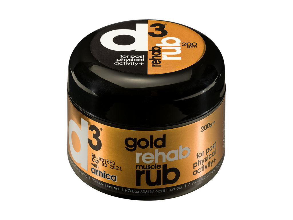 d3 Gold Muscle Rehab Rub