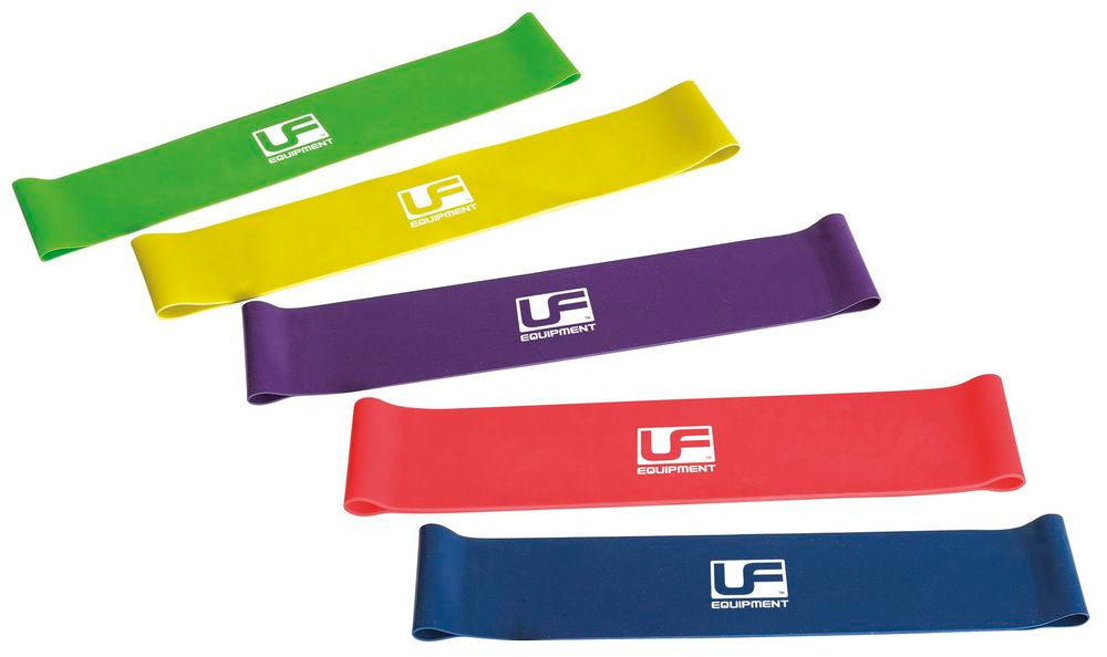 Urban Fitness Resistance Band Loop 10 Inch Set of 10 Inch