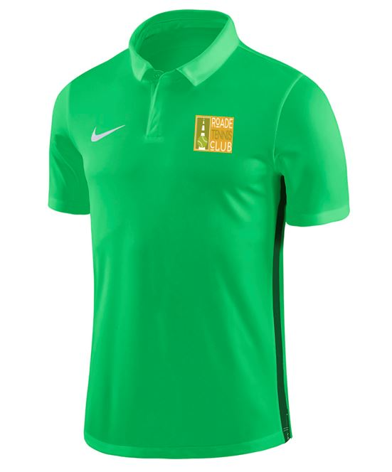 Roade TC Juniors Nike Polo Green