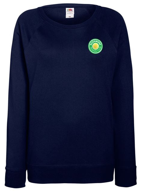 Rushmere Ladies Lightweight Crew Neck Sweatshirt