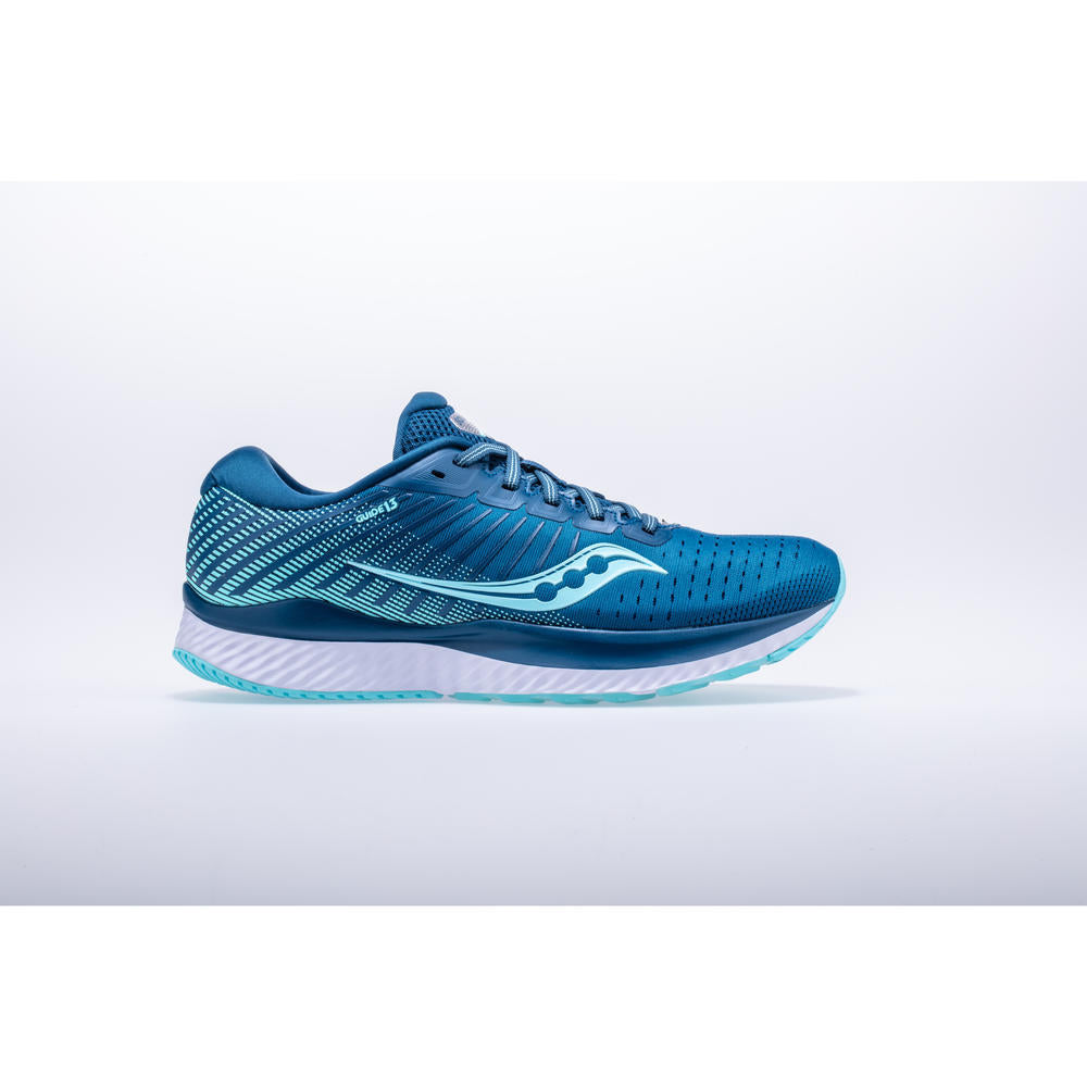 Saucony Guide 13 Womens Blue/Aqua