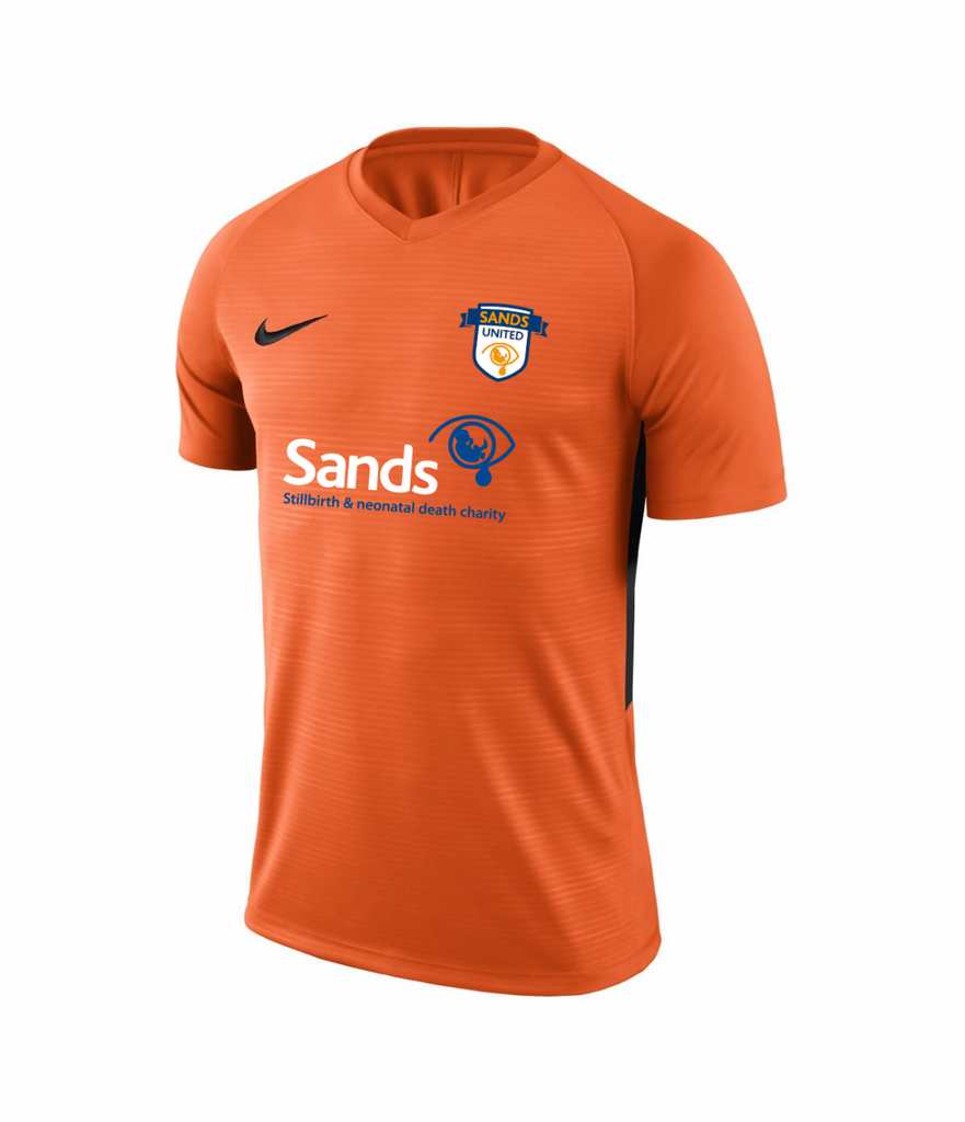 Sands F.C Nike Tiempo Premier Orange Jersey