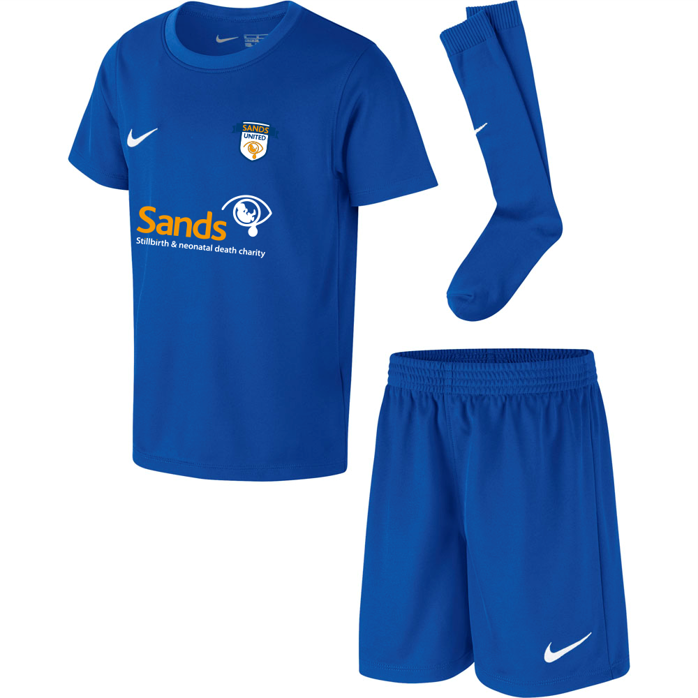 Sands F.C Nike Mini Kit Set Blue